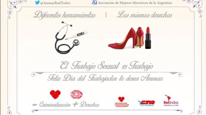 Trabajadoras sexuales argentinas y su llamativa campaña pro derechos