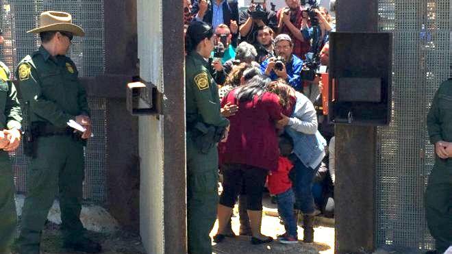 109 personas retenidas en frontera de EU, por ser 'peligrosas para el país'
