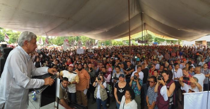 Maestros capitalinos y Morena firman acuerdo para la Constituyente