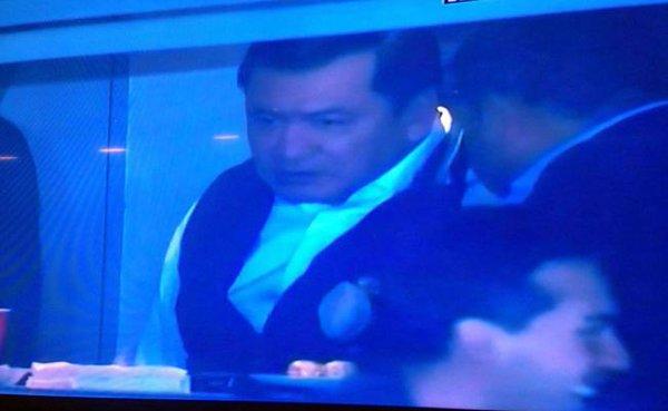 Osorio Chong niega diálogo con maestros, pero va al estadio a apoyar al Pachuca