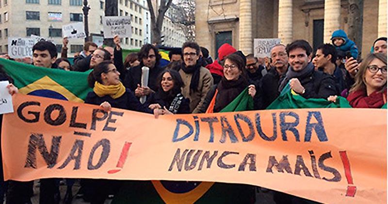 Crisis brasil brasileña dilma rousseff temer estrategia golpista