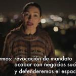 Dolores Heredia actriz, llama a votar por Morena en nuevo spot