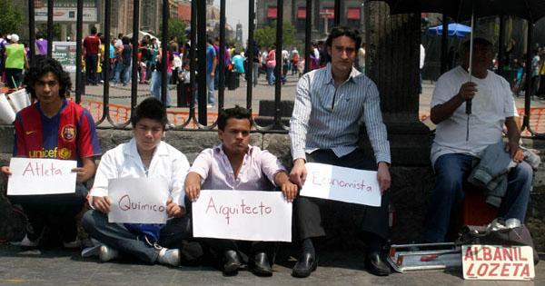 Desempleo en México en su nivel más bajo desde 2014
