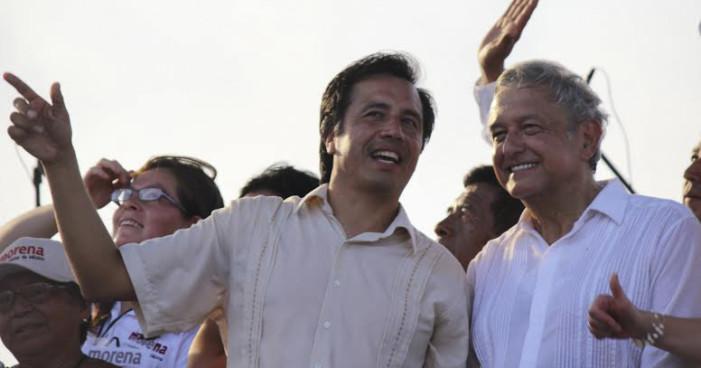 Ratifican a Cuitláhuac García como candidato de Morena al gobierno de Veracruz