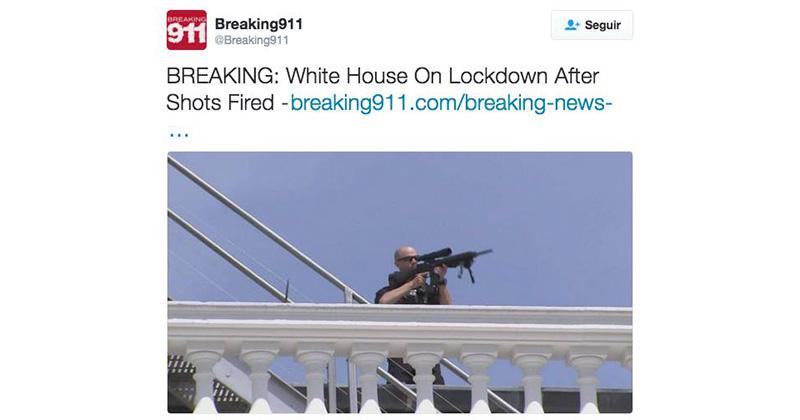 eu casa blanca tiroteo