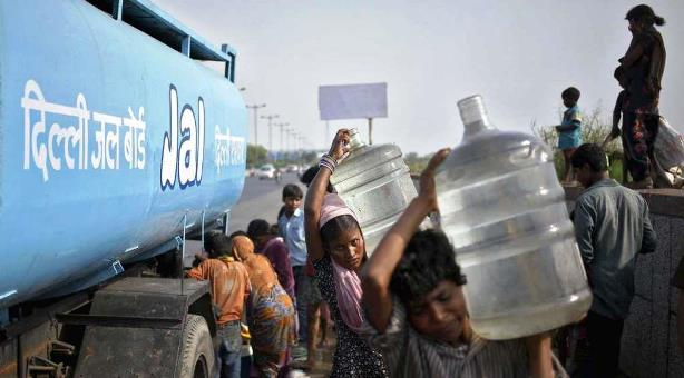 Infierno en la India: registra temperaturas de 51 grados