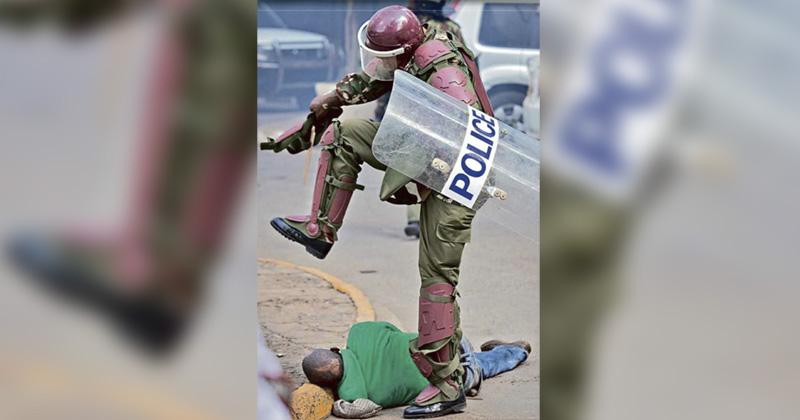kenia policía represion manifestaciones corrupción africa