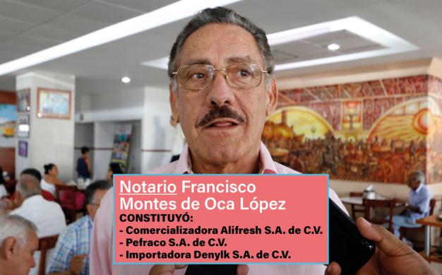 Notarios priistas involucrados en los fraudes de Veracruz
