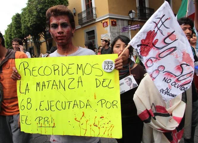Repudian en redes sociales cierre de campaña del PRI en Tlatelolco