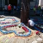 Ofrenda-mandala por la vida y la defensa del territorio en Cuetzalan, Puebla