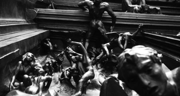 Puerta del Infierno de Rodin expuesta en México
