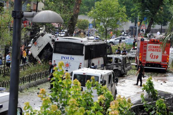 Mueren 11 y hay 36 heridos en atentado terrorista en Turquía