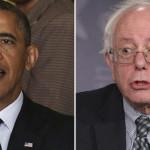 Sanders se reúne con Obama y promete reunirse con Clinton