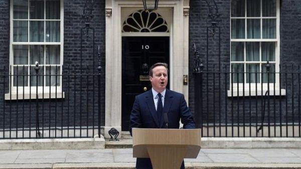 David Cameron renuncia tras Brexit