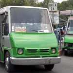 Subirá tarifa de microbuses, autobuses y vagonetas en la Ciudad de México