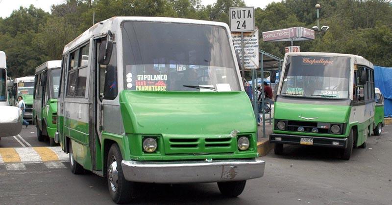 ciudad de mexico microbuses mancera