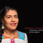 Eufrosina Cruz Mendoza, una de las mujeres más poderosas de México: Forbes