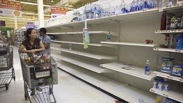 foto falsa de carestía venezuela