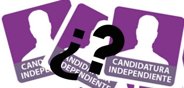 """Vaticinan """"malos resultados"""" para los candidatos independientes"""