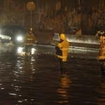 Caos vial y encharcamiento por lluvias y basura en la CDMX