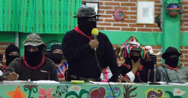 maestros magisterio no está solo EZLN y CNI