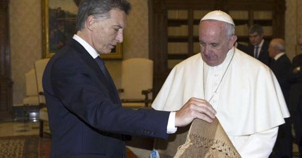 mauricio macri papa francisco bergoglio
