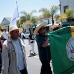 Migrantes en Estados Unidos se solidarizan con maestros