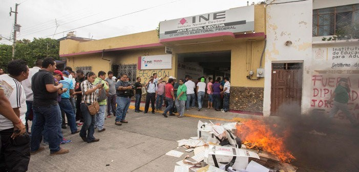 Van 112 personas detenidas en Oaxaca