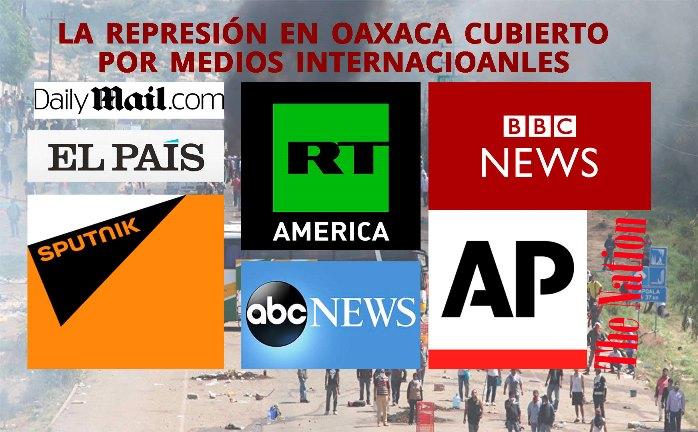 Medios internacionales informan sobre represión en Oaxaca, menos CNN