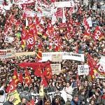Prohíben macro-protesta contra reforma laboral en París