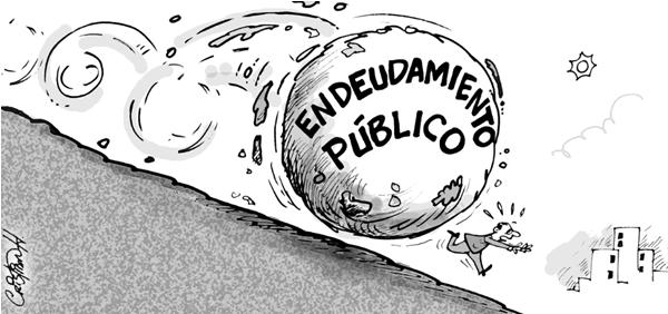 Diario aumenta deuda del gobierno $1,389 millones de pesos