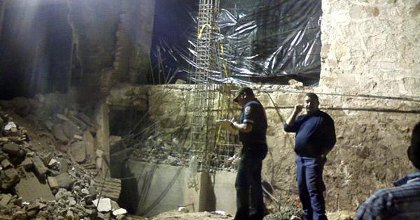 Derrumbe de muro de Coppel mata tres trabajadores