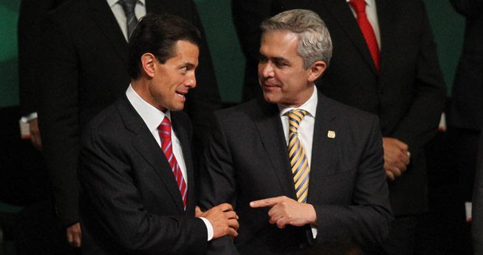 Con frente amplio o sin él, Mancera irá por la presidencia