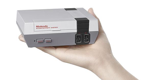 Nintendo lanzará versión miniatura de su clásica consola NES