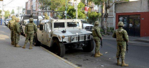 Detienen en Iztacalco a presuntos integrantes de la Familia Michoacana
