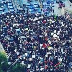 Arrestan a 200 personas por protestar contra la policía en Estados Unidos