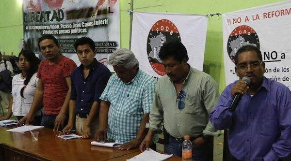 Llaman a la desobediencia civil en Oaxaca