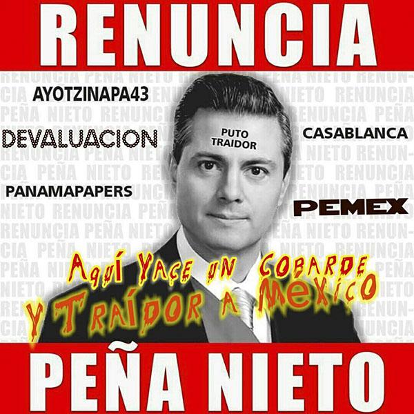 """Redes Sociales se lanzan contra Peña Nieto por disculpa sobre """"Casa Blanca"""""""