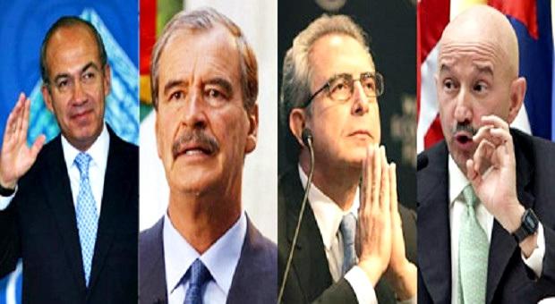 Salinas, Fox, Calderón y Peña fundan todos unidos contra AMLO (Tucam)