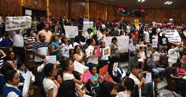 ONU reprueba la reforma antiaborto de Veracruz