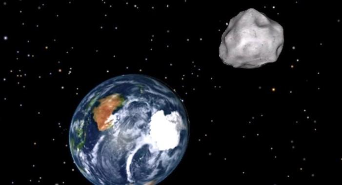 Enorme asteroide rozará órbita de la Tierra el 1 de septiembre