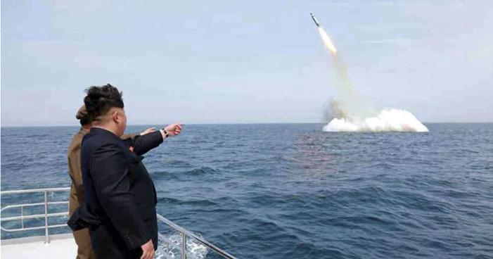 Corea del Norte lanza misil a zona exclusiva del mar de Japón