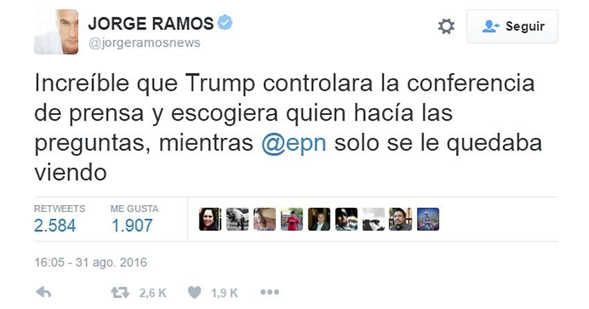 El mundo reacciona a la reunión Peña Nieto-Trump