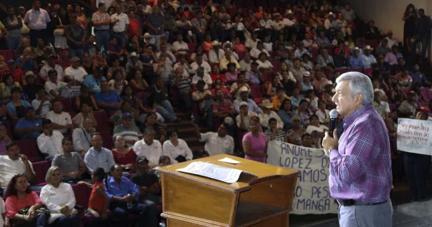 Guaymas Peña Nieto debe comprometerse a revisar reforma educativa AMLO