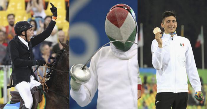 Ismael Hernández consigue bronce para México en Pentatlón Moderno