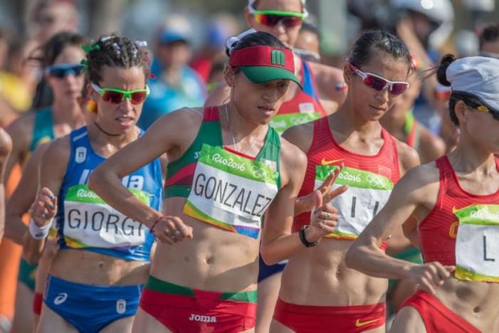 Lupita González obtiene plata en marcha femenil; es la segunda para México