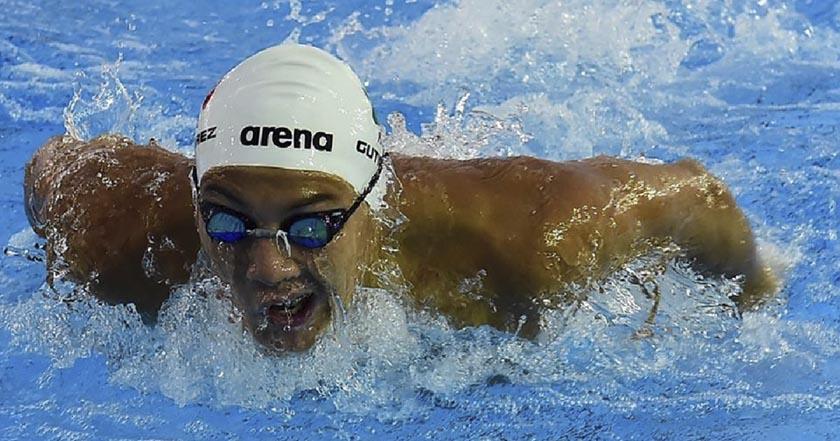 Long Gutiérrez, nadador mexicano, queda fuera de río 2016