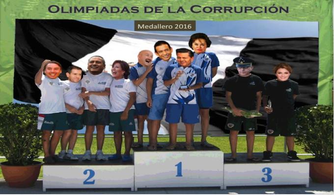 México: las olimpiadas de la corrupción