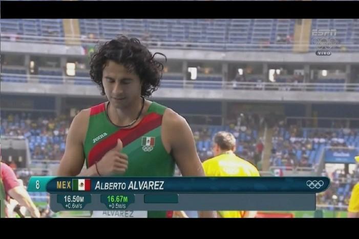 Mexicano avanza a la final de Triple Salto en Río