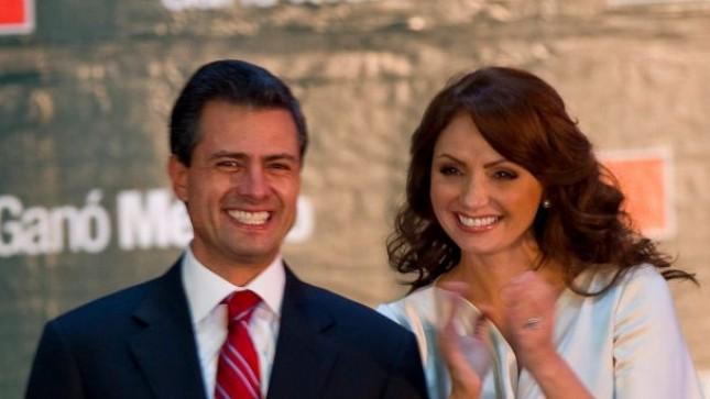 Ponen a Colonia nombre de Peña Nieto y a la plaza la nombran Angélica Rivera